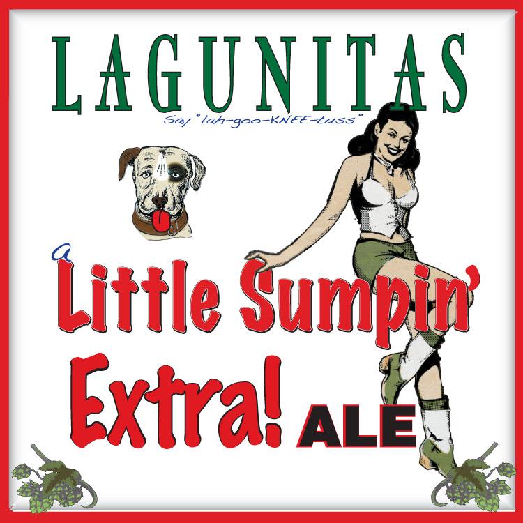 Image result for Lagunitas little sumpin extra logos