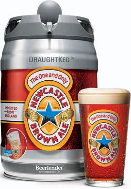Newcastle Brown Ale Draught Keg Aleheads