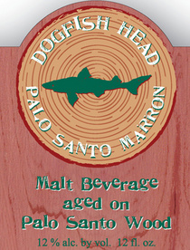 Palo Santo Marron label
