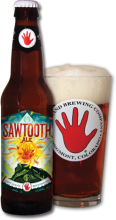 Sawtooth: Bottle and Glass