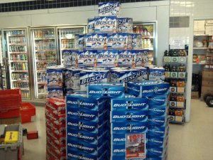 cases of bud light