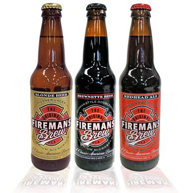 firemans brew bottles