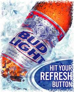 1st bud light ad